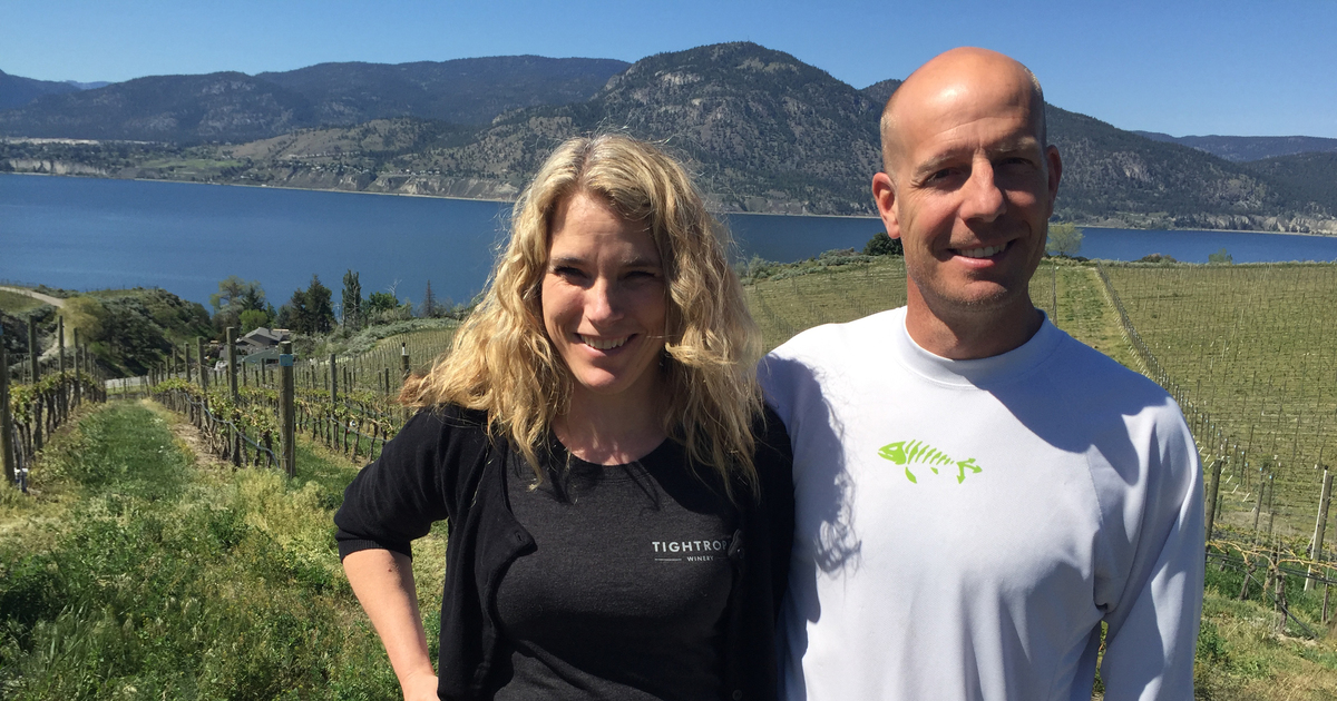B.c.'s Tightrope Winery Finds A Balance Of Power photo