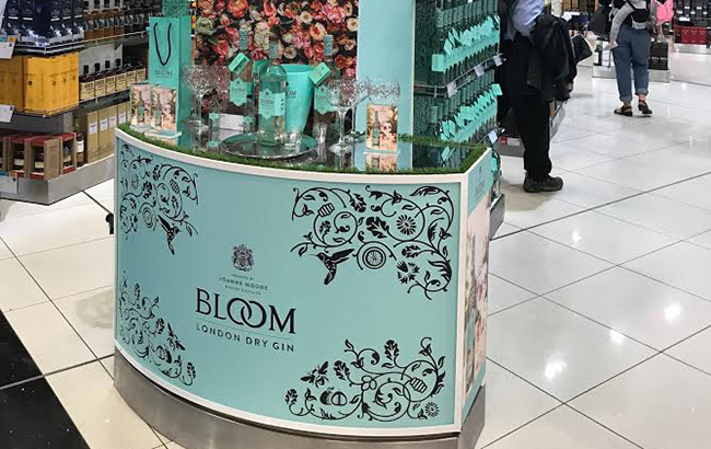 Bloom Gin Embarks On First Gtr Activation photo
