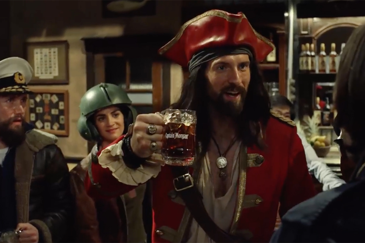 Captain Morgan's Latest Spot Is Stuffed Full Of Captains photo