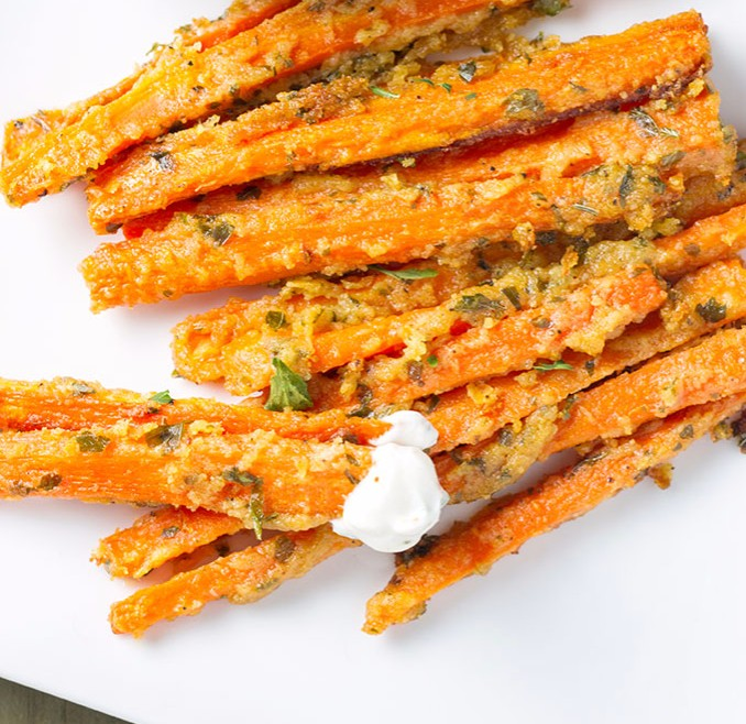 Garlic and Parmesan Carrot Fries photo