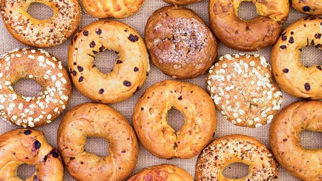 Caffeinated Bagels Are Here To Perk Up Your Mornings photo