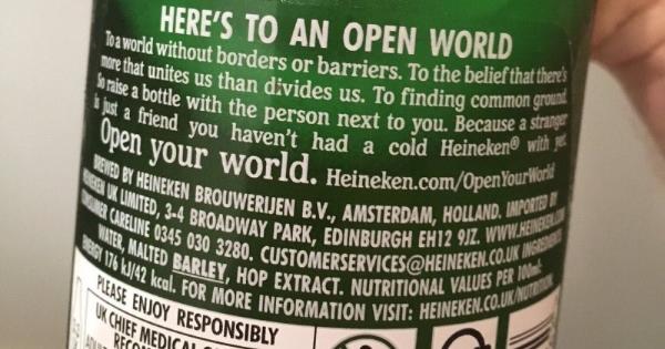 Heineken Toasts ?borderless World? In New Ad Campaign photo