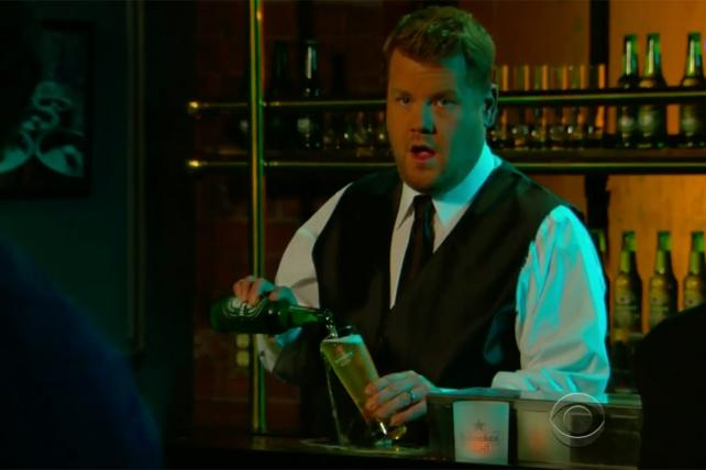 Here's Why You'll See Plenty Of Heineken On 'late Late Show' photo
