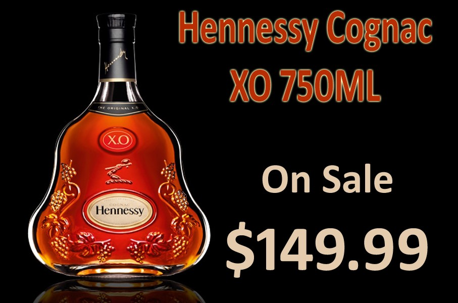 Hennessy Cognac XO 750ML photo