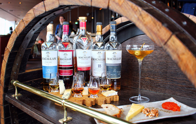 Macallan And Oblix Partner For Bespoke Whisky Trolley photo