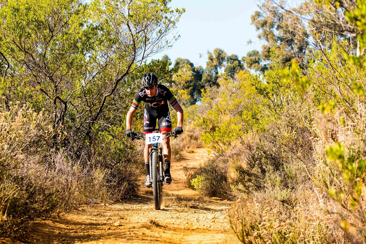 Hb Kruger And Carmen Buchacher Dominate In Paarl Mtb Classic photo