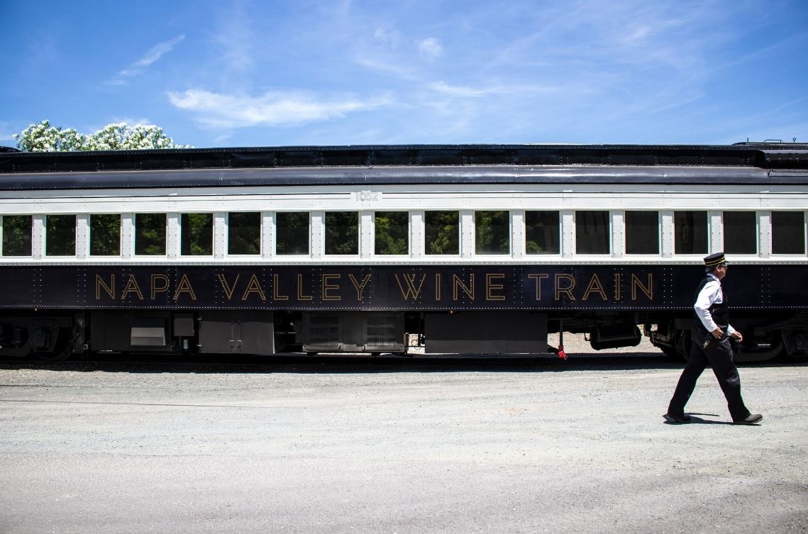 Napa Valley Wine Train To Host Chappellet Winery Aboard Its Private Reserve Train On Saturday, May 13 photo