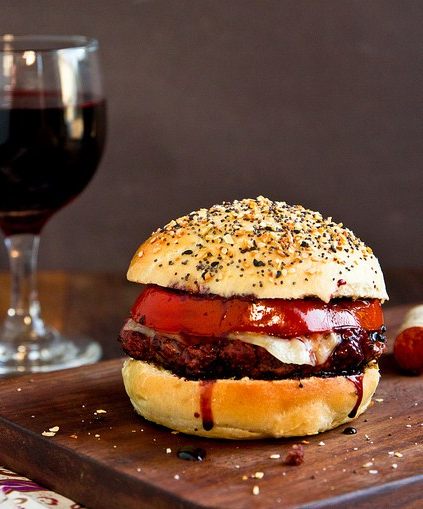 Red Wine Burger with Shiraz 100 Ways to Prepare Hamburger The History Of The Hamburger And What To Drink With It