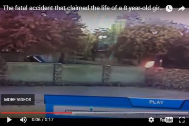 Watch: Fatal Accident Claims Life Of 8-year-old Girl photo