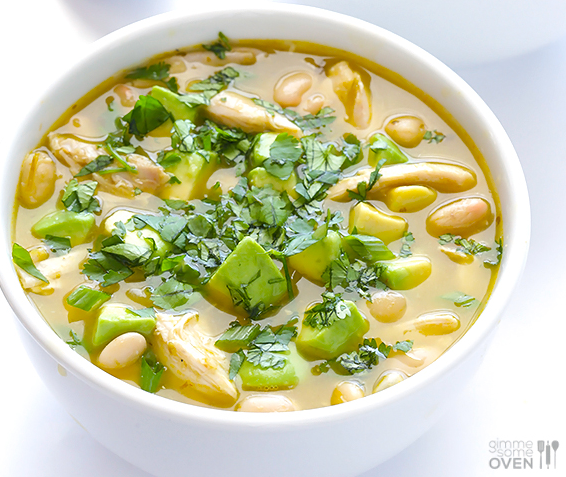 Five-Ingredient White Chicken Chili photo