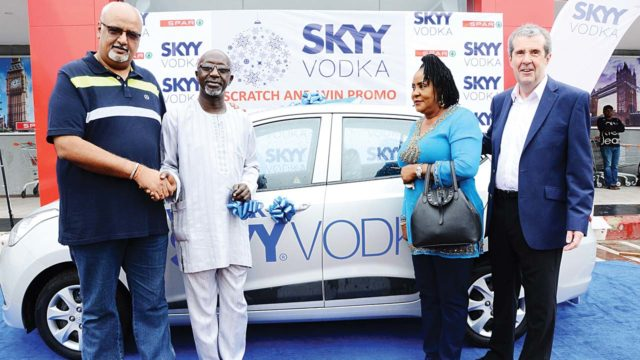 Skyy Vodka Scratch Promo Winner Gets Brand New Car photo
