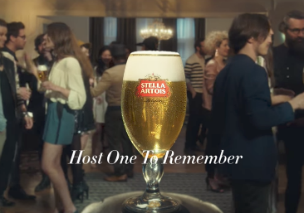 Mother Performs ?party Trick? For Stella Artois photo