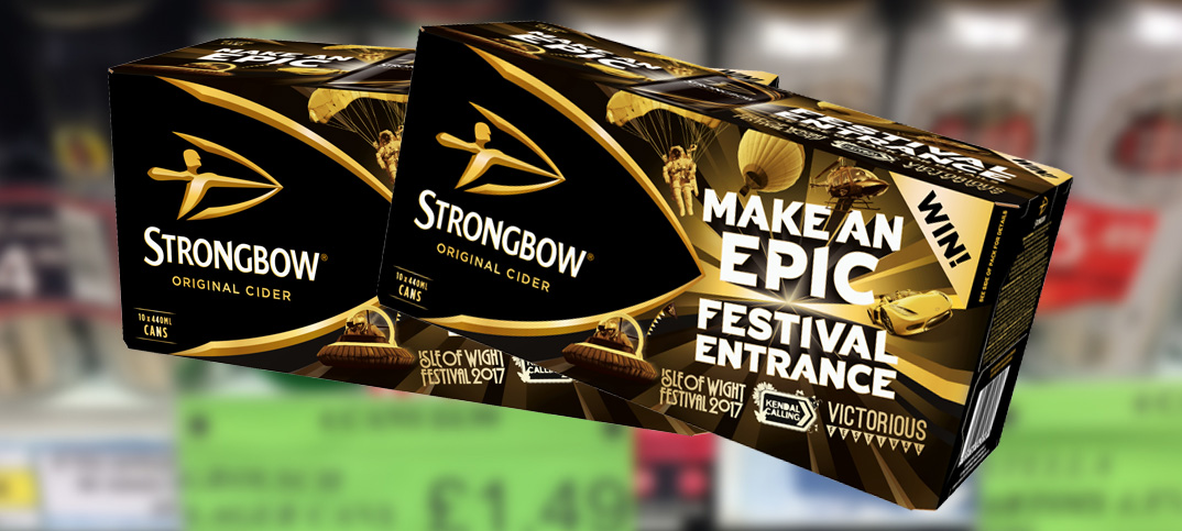 Strongbow Gives Your Shoppers The Chance To 'make An Epic Festival Entrance' photo