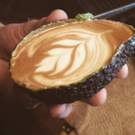 Australian Hipster Cafe Is Serving Coffee In Avocados photo