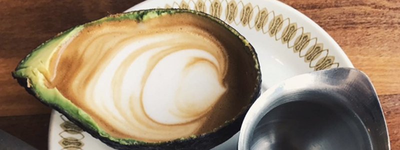 Lattes Inside Avocados, Or 'avolattes,' Are Now A Thing photo