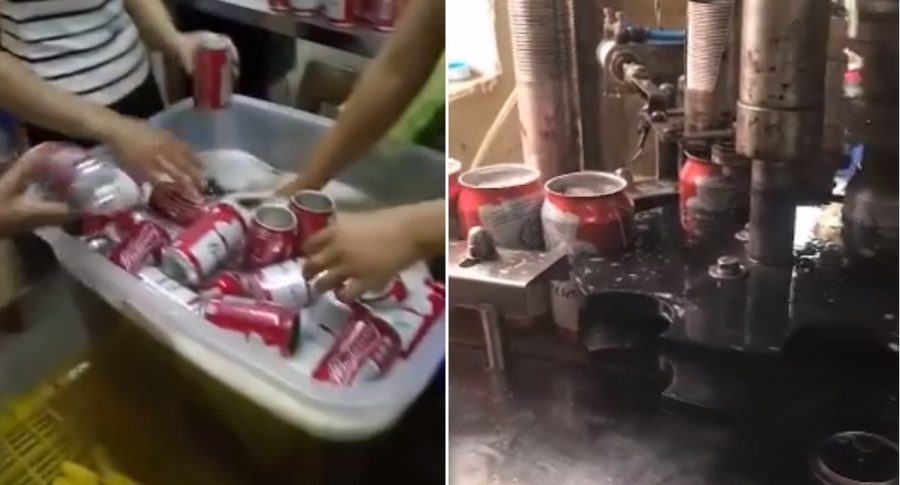 Video Of Chinese Factory Making Budweiser Beer Is Seriously Disgusting photo