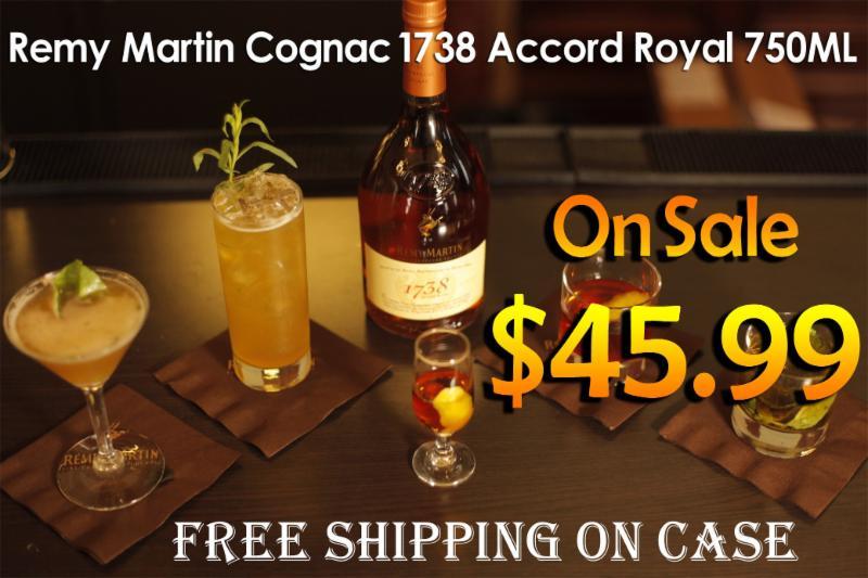 Remy Martin Cognac 1738 Accord Royal 750ML photo