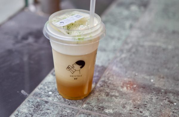 Chinese People are Queueing Hours for this Cheese Tea photo