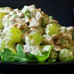 Grape and Chicken Salad with Perdeberg The Ploughman White Blend photo