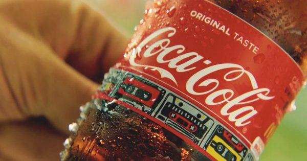 Coca-cola Made Detachable Bottle Labels That Work As Wristbands For Music Festivals photo