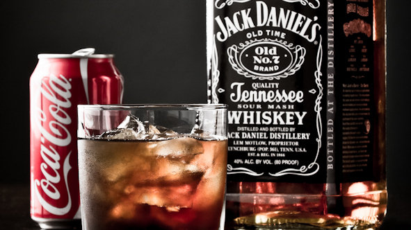 jack and coke The most popular drinks at Casinos