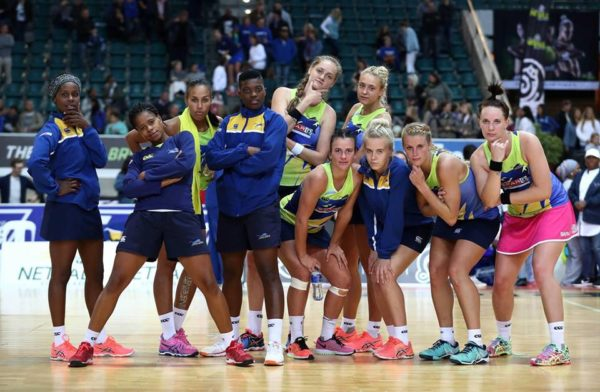 Jaguars Still On Top Of The Log In The Brutal Fruit Netball Premier League photo