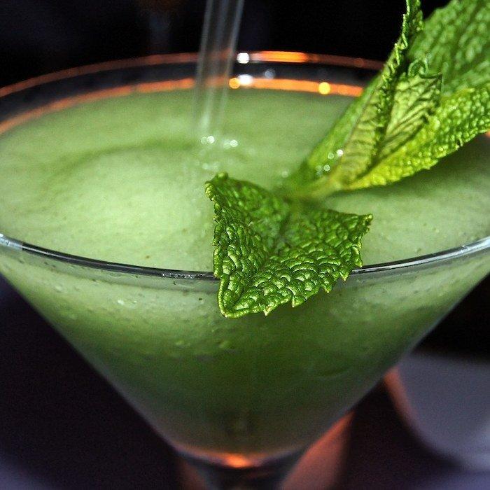 Frozen Mint Daiquiri Cocktail photo