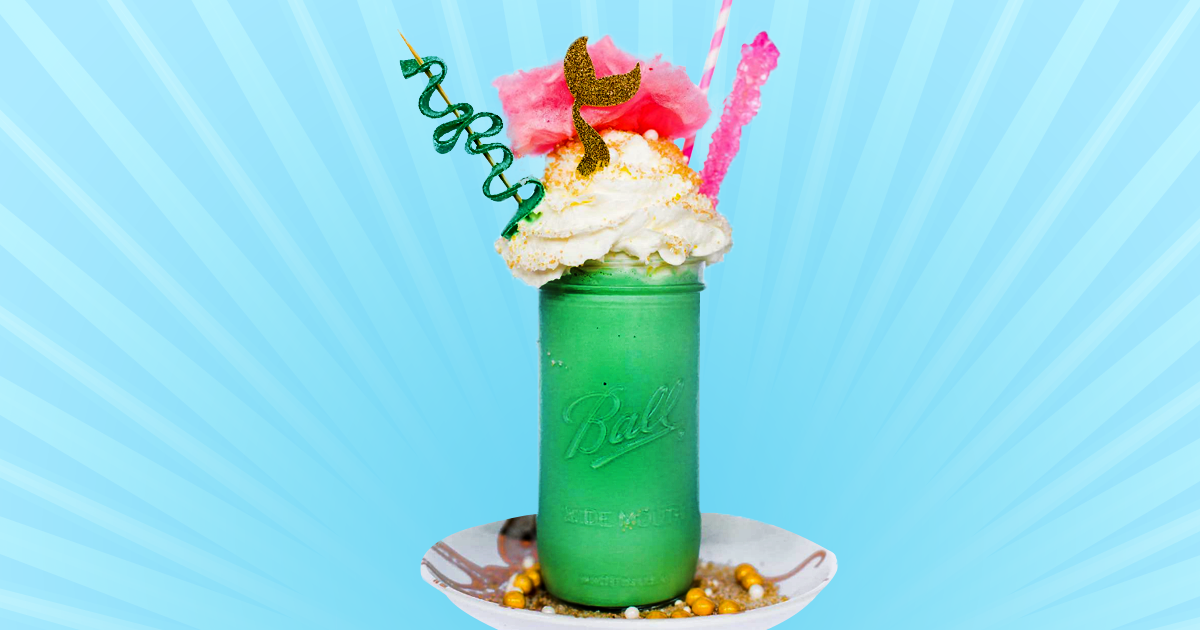 You Can Now Eat And Drink Like Ariel At This Magnificent Mermaid Cafe photo