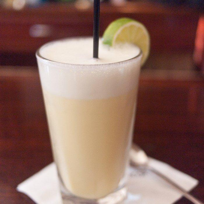Royal Gin Fizz Cocktail photo