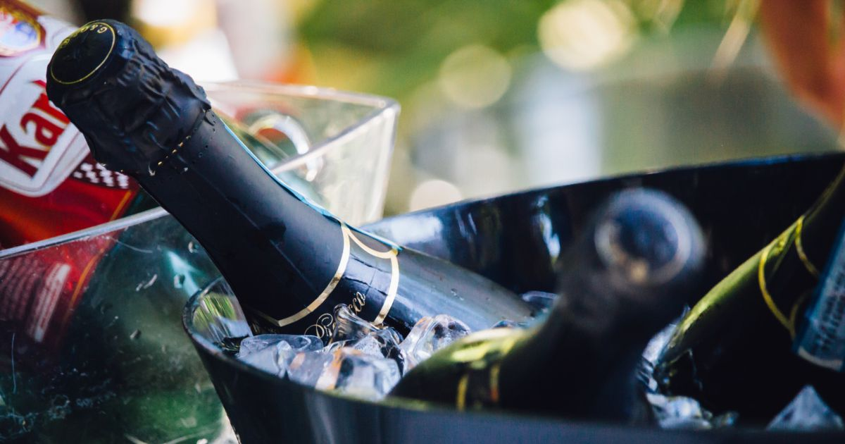 Storing Champagne In The Fridge Could Be Ruining Its Taste photo