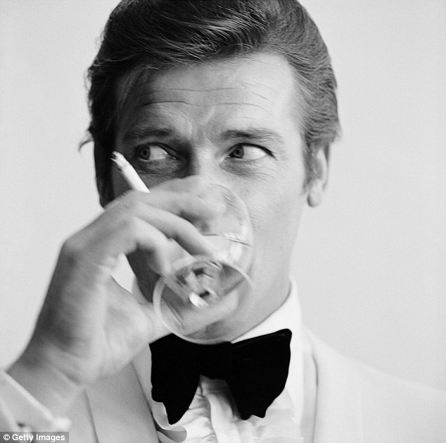 Let us raise a glass to Roger Moore photo