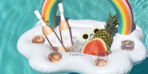 A Pool Float For Your Rosé Now Exists photo
