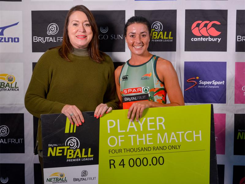 Flames Cruise To Semis As They Impress In Win Over Stings In The Brutal Fruit Netball Premier League photo