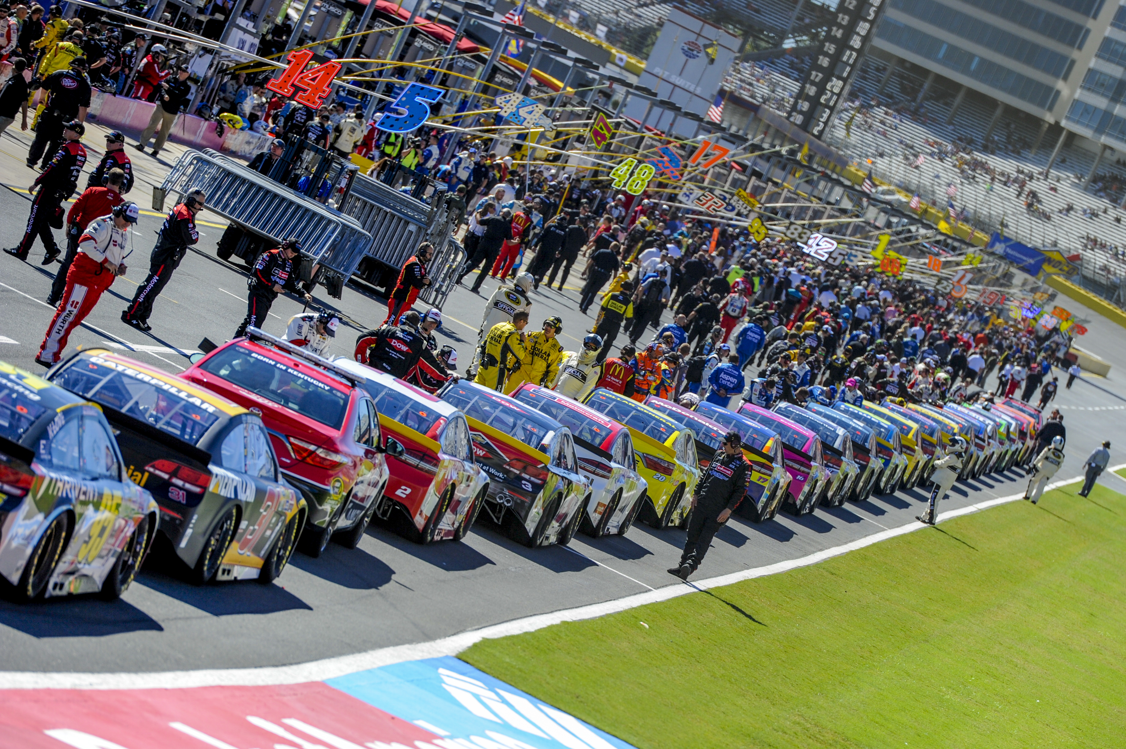 Storms May Delay Coca-cola 600 At Charlotte Motor Speedway Sunday photo