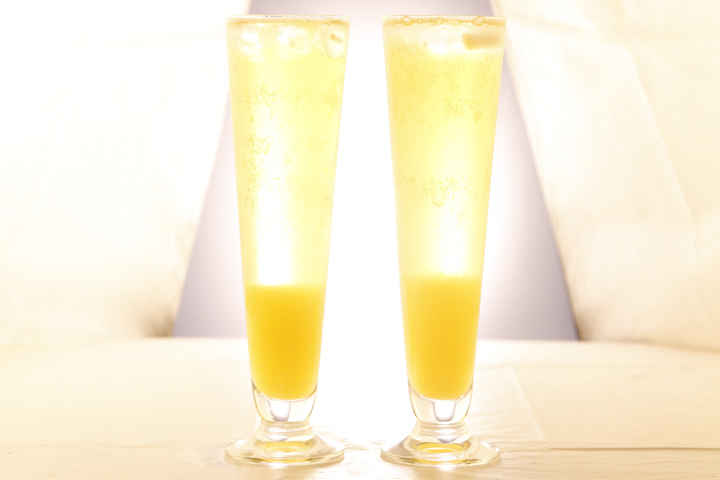 Step up your breakfast drinking with a Sunshine Shandy photo
