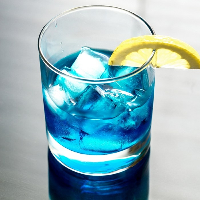 Grand Blue Cocktail photo