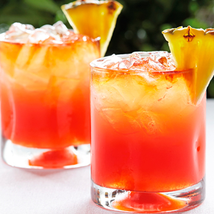 Rum Punch Cocktail photo