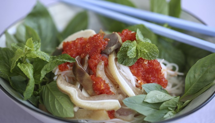 Susan Jung's Recipe For Vietnamese Rice Vermicelli With Pig's Ears photo