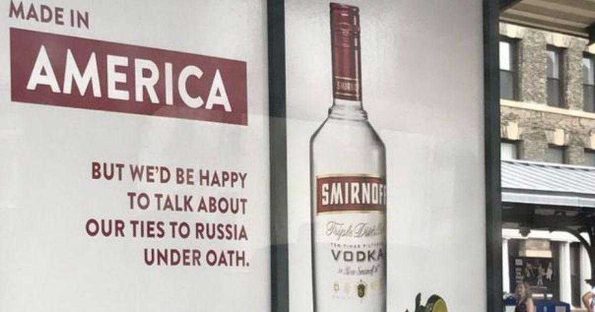 Smirnoff Slams Trump's Russia Relationship In Punchdrunk, Brilliant Ad Campaign photo