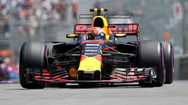 Red Bull Takes Top Two Spots In Baku Practice photo