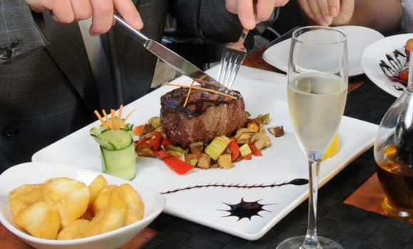Grilled Beef + Champagne = Culinary Heaven? photo