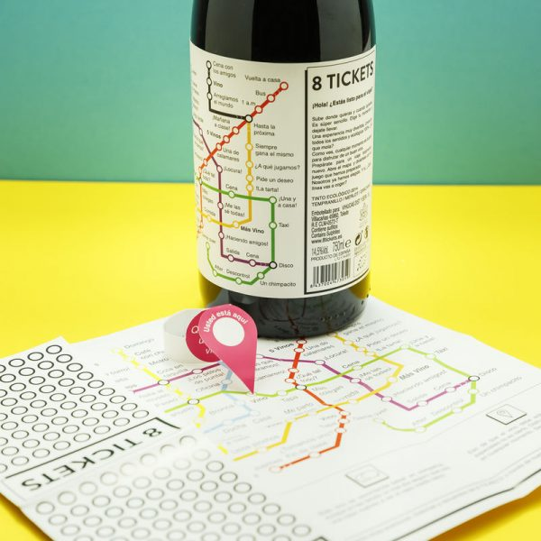 Packaging Spotlight: Board Game Wine Labels photo