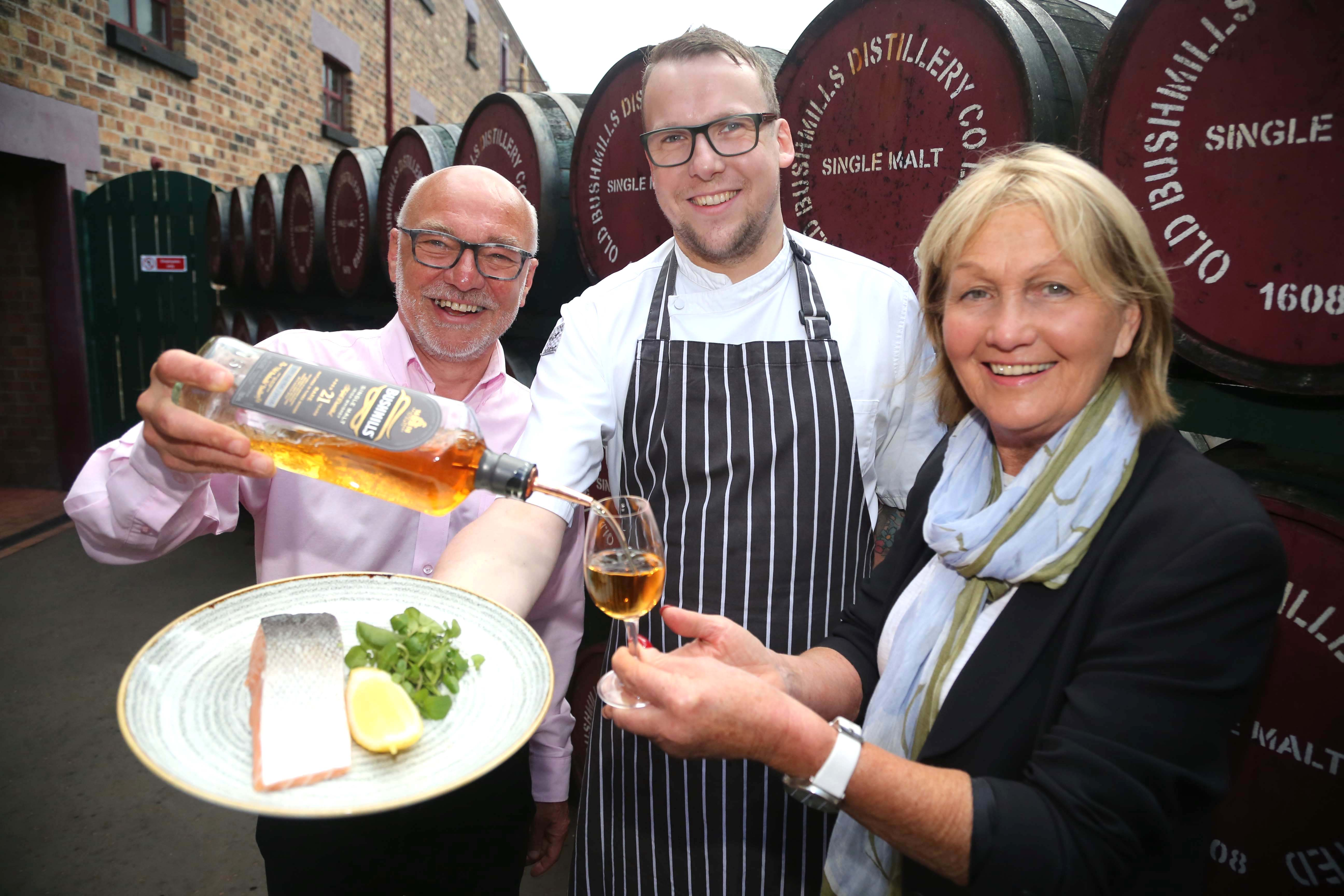 Celebrity Chef Jenny Bristow To Appear At Bushmills Salmon And Whiskey Festival photo