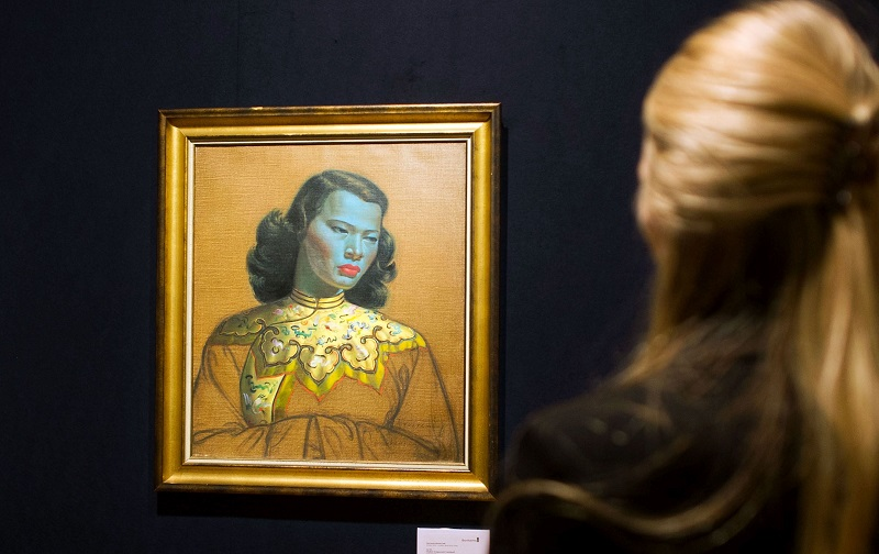 'chinese Girl' Made Famous By Painter Tretchikoff Dies At 86 photo
