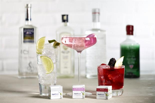 Heathrow Airport launches gin and tonic tea-bags photo