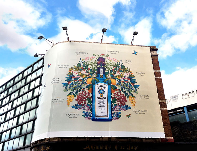Bombay Sapphire A Gin Of Ten Journeys Campaign, By Various photo