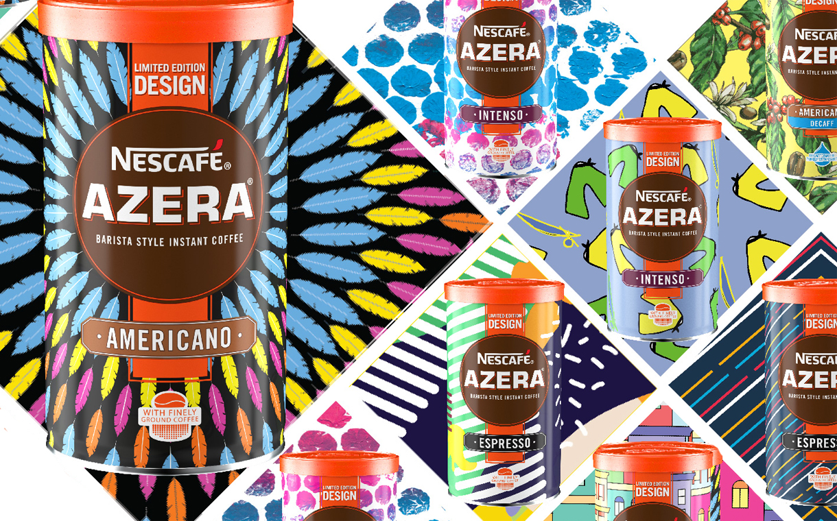 Nescafé Azera Releases Latest Limited-edition Designer Tins photo