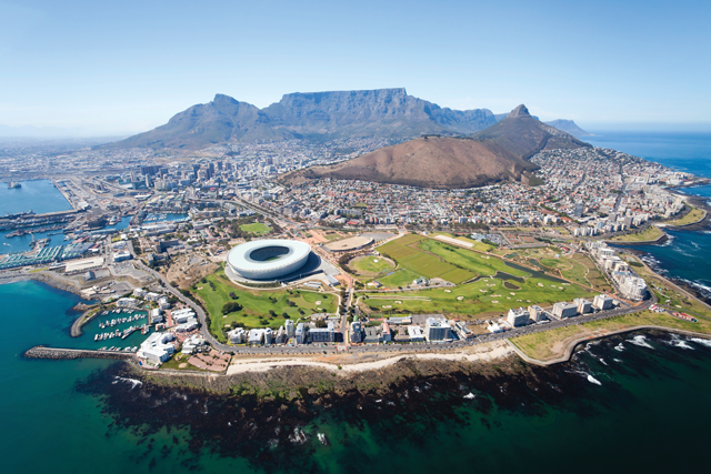 Cape Town Designation Groundbreaking For South Africa photo