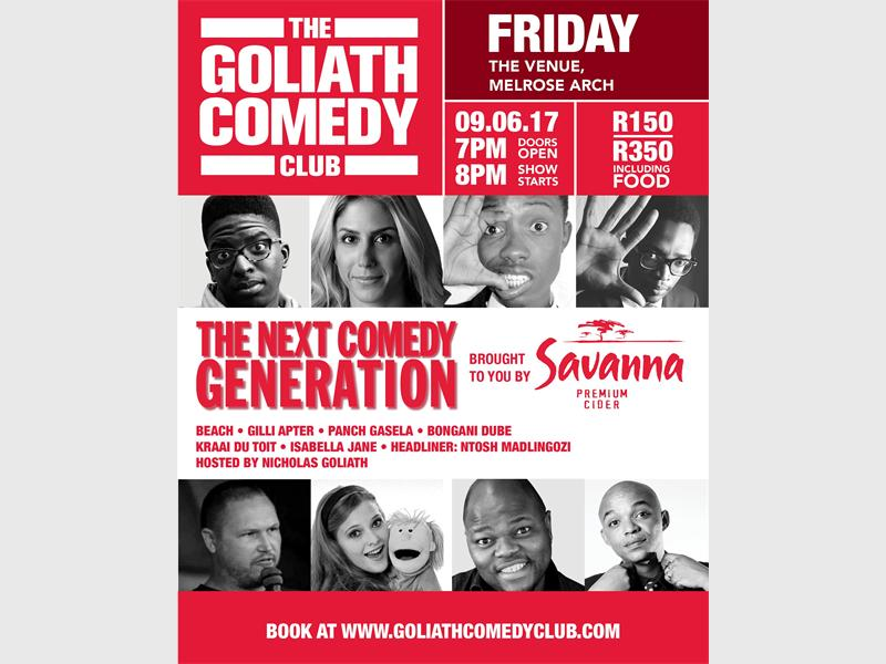 The Next Generation Comedy Series Gives Up-and-coming Comedians An Opportunity To Perform On A Professional Platform photo