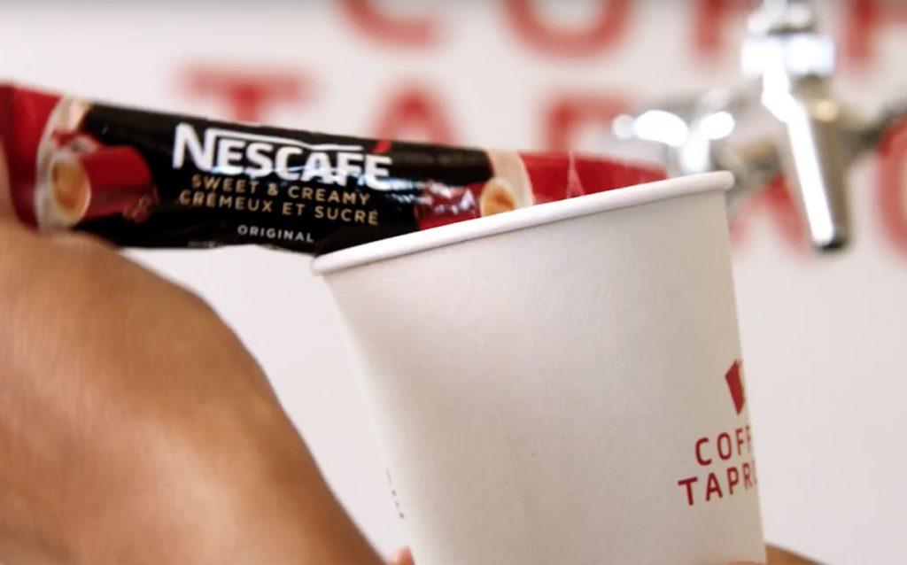 Nescafé Trials Coffee Shop Where Consumers Bring Their Own Coffee photo